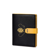 JUST STAR 2019 New Special Wallet Black & Yellow
