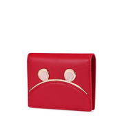 NUCELLE 2019 New Fashion Short Wallet Red