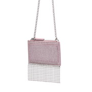 NUCELLE 2019 New Fashion Tassel Wallet Pearl Pink