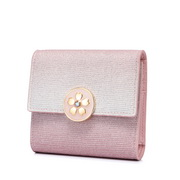 JUST STAR 2020 New Sweet Wallet Pink