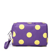 NUCELLE cosmetic bag purple