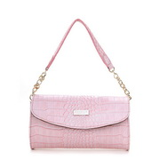 Wholesale leather messenger bag Pink