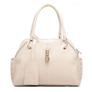 Wholesale handbag Genuine leather women shoulder bag Beige
