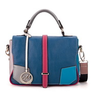 Fashion Genuines leather bag Blue