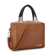 Cowhide leather bag Brown