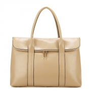 fashion leather handbag Apricot