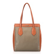 Rivet decoration bag Apricot