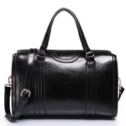 Cowhide Leather women bags Black