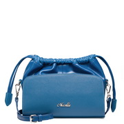 Lady leather fashion handbag Blue