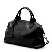 Fashion latest style NUCELLE Top high Genuine leather women bag Black