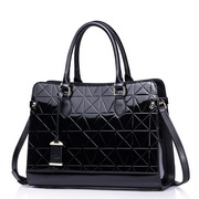NUCELLE Cowhide women handbags Black
