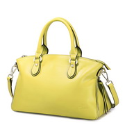 NUCELLE Flower series cowhide leather bag  Yellow