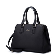 NUCELLE women leather handbag Black