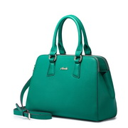 NUCELLE women leather handbag Green