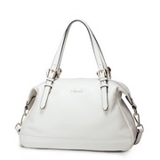 2015 NUCELLE Women real leather bag White