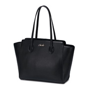 Fashion NUCELLE large capacity big size genuine leather women bag  black