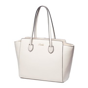 Fashion NUCELLE large capacity big size genuine leather women bag  White