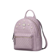 NUCELLE women leather backpack Purple
