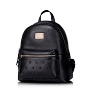 NUCELLE women genuine leather backpack Black