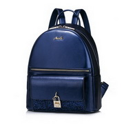 NUCELLE Good Quality 2016 New Vintage Modern Style Backpack Blue