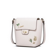NUCELLE Top PU Leather 2017 Summer Holiday Elegant Crossbody Bag Soft Pink