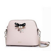 NUCELLE Top PU Leather 2017 Summer New Sweet Girl Shopping Crossbody Bag Pink