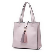 NUCELLE Good Quality 2017 New Attractive Simple Style Shoulder Bag Pink