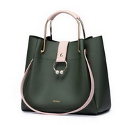 NUCELLE 2017 New Season Stylish Large Capacity Tote Bag Green