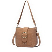 NUCELLE 2017 New Special Classic Style Frosted Shoulder Bag Brown