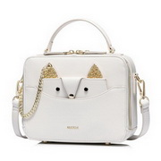 NUCELLE 2018 New Winter Stylish Lady Shoulder Bag White