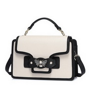 NUELLE 2017 New Popular Pin Elements Shoulder Bag Apricot