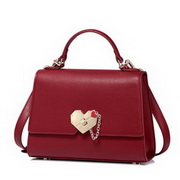 NUCELLE 2017 New Elegant Heart Shoulder Bag Red
