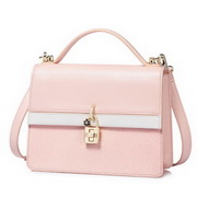 NUCELLE 2018 Summer New Office Lady Shoulder Bag Pink