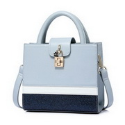 NUCELLE 2018 Spring New Office Lady Handbag Blue