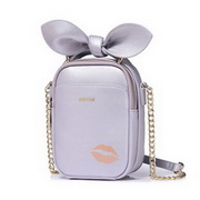 NUCELLE 2018 New Popular Pearl Shell Color Messenger Bag Purple