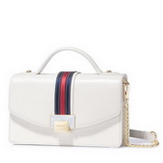 NUCELLE 2018 New Popular Modern Lady Cross body Bag White