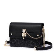 NUCELLE 2018 New British Style Shoulder Bag Black
