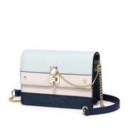 NUCELLE 2018 New British Style Shoulder Bag Sky Blue