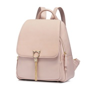 NUCELLE 2018 Stylish Tassel Frosted Style Backpack Pink