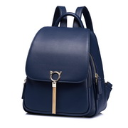 NUCELLE 2018 Stylish Tassel Frosted Style Backpack Blue