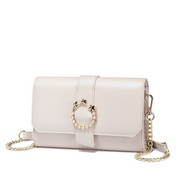 NUCELLE 2018 New Simple Style Women Shoulder Bag White