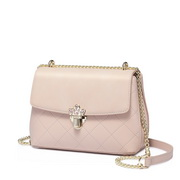 NUCELLE 2018 New Graceful Women Shoulder Bag Champagne Pink
