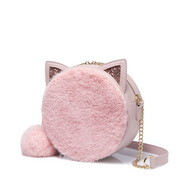 NUCELLE 2018 New Sweet Popular Pink Round Bag