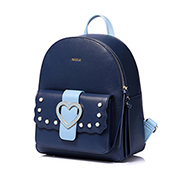 NUCELLE 2018 New Sweet Heart Backpack Blue