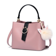 NUCELLE 2018 Stylish Women Bucket Bag Pink
