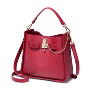 NUCELLE 2018 New Fashion Women Bucket Bag Red