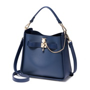 NUCELLE 2018 New Fashion Women Bucket Bag Blue