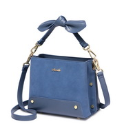 NUCELLE 2018 New Winter Hot Selling Lady Shoulder Bag Blue