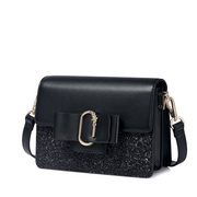 NUCELLE 2018 New Winter Lady Shoulder Bag Black
