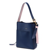 NUCELLE 2018 New Stylish Winter Bucket Bag Blue